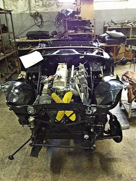 1961 Austin Healey 3000 Mk2 BT7 Triple Carb!
