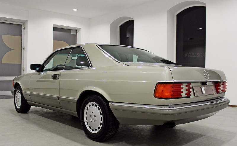 1989 Mercedes Benz 560SEC 300HP